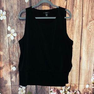 Alfani black shirt size XL